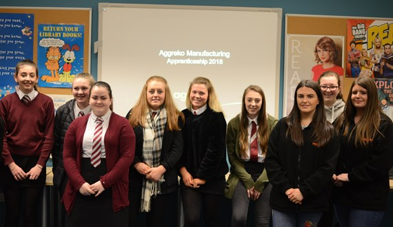 Pupils enjoy speed networking event