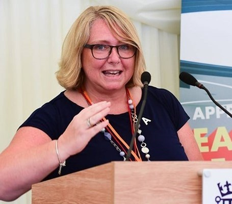 Ruth Jennings, Chair of the Apprenticeship Approvals Group